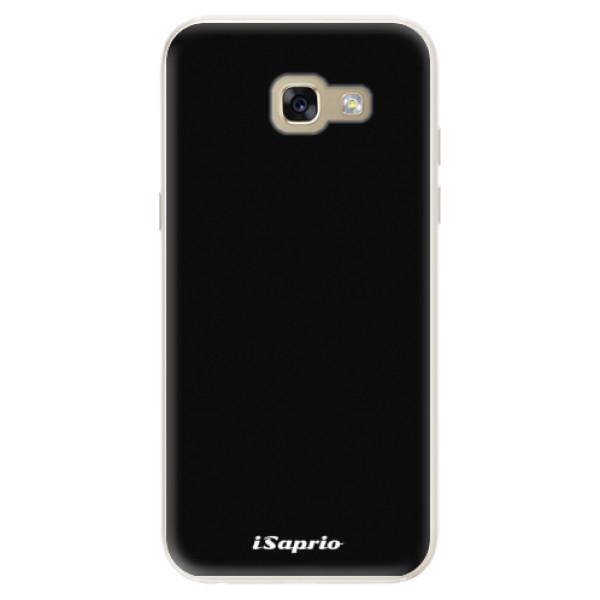 Silikonové pouzdro iSaprio - 4Pure - černý - Samsung Galaxy A5 2017