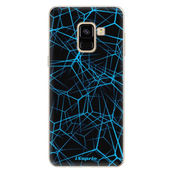 Silikonové pouzdro iSaprio - Abstract Outlines 12 - Samsung Galaxy A8 2018