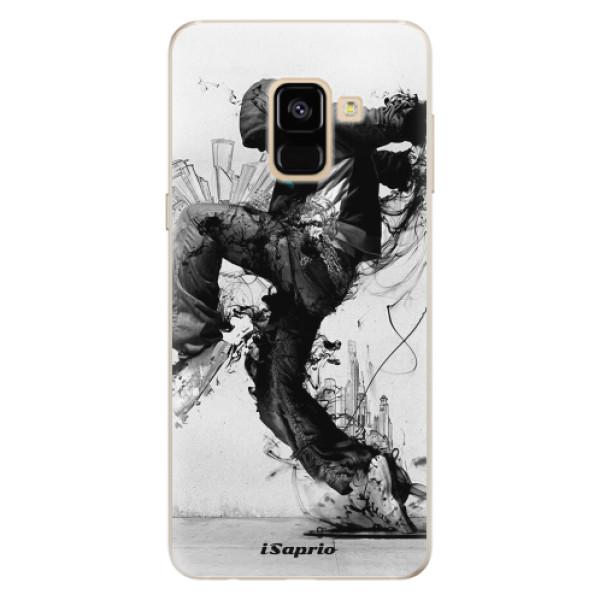 Silikonové pouzdro iSaprio - Dance 01 - Samsung Galaxy A8 2018