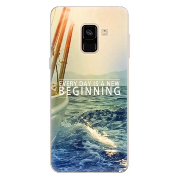 Silikonové pouzdro iSaprio - Beginning - Samsung Galaxy A8 2018