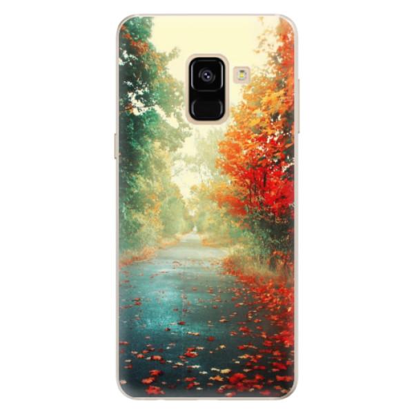 Silikonové pouzdro iSaprio - Autumn 03 - Samsung Galaxy A8 2018