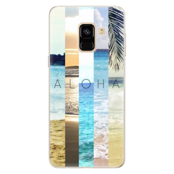 Silikonové pouzdro iSaprio - Aloha 02 - Samsung Galaxy A8 2018