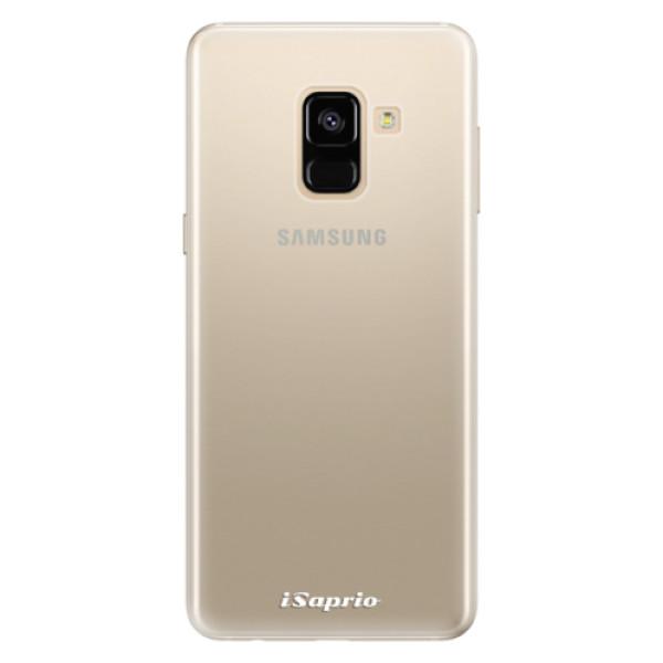 Silikonové pouzdro iSaprio - 4Pure - mléčný bez potisku - Samsung Galaxy A8 2018