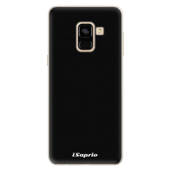 Silikonové pouzdro iSaprio - 4Pure - černý - Samsung Galaxy A8 2018