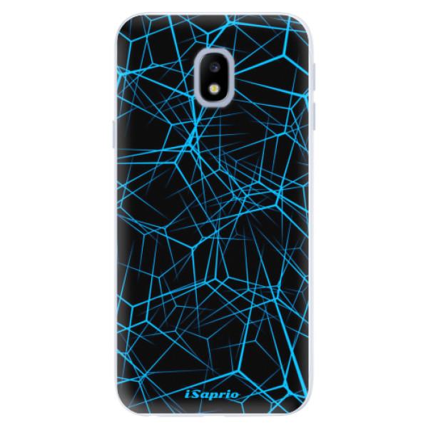 Silikonové pouzdro iSaprio - Abstract Outlines 12 - Samsung Galaxy J3 2017