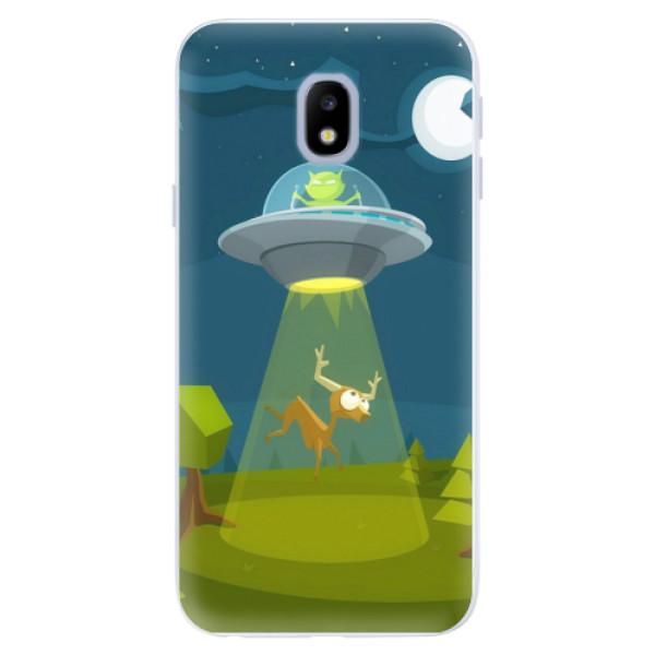 Silikonové pouzdro iSaprio - Alien 01 - Samsung Galaxy J3 2017