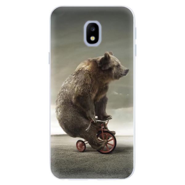 Silikonové pouzdro iSaprio - Bear 01 - Samsung Galaxy J3 2017