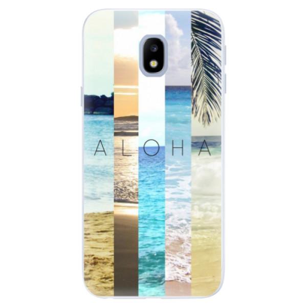 Silikonové pouzdro iSaprio - Aloha 02 - Samsung Galaxy J3 2017