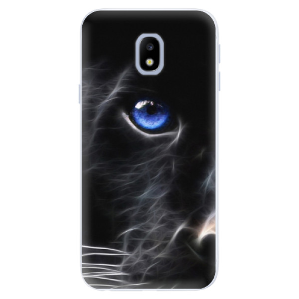 Silikonové pouzdro iSaprio - Black Puma - Samsung Galaxy J3 2017