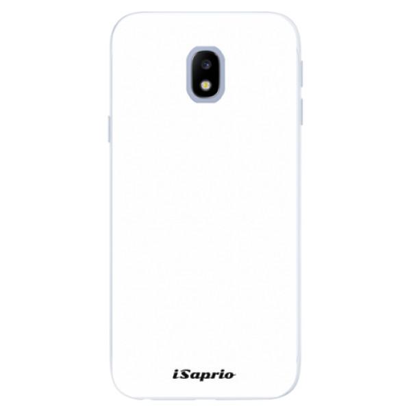 Silikonové pouzdro iSaprio - 4Pure - bílý - Samsung Galaxy J3 2017
