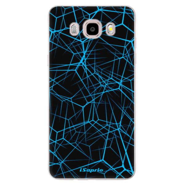 Silikonové pouzdro iSaprio - Abstract Outlines 12 - Samsung Galaxy J5 2016