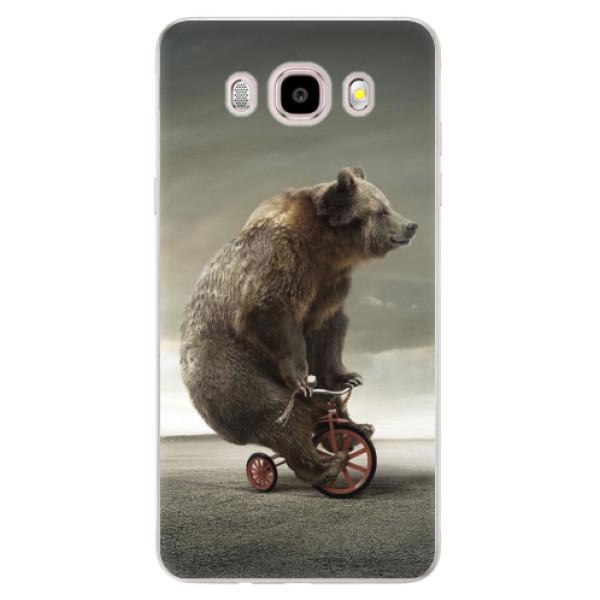 Silikonové pouzdro iSaprio - Bear 01 - Samsung Galaxy J5 2016
