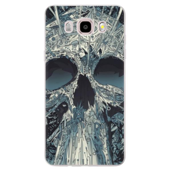 Silikonové pouzdro iSaprio - Abstract Skull - Samsung Galaxy J5 2016