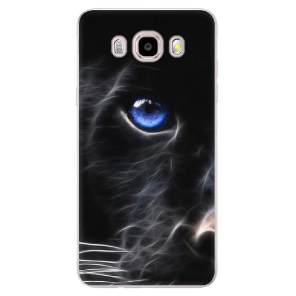 Silikonové pouzdro iSaprio - Black Puma - Samsung Galaxy J5 2016