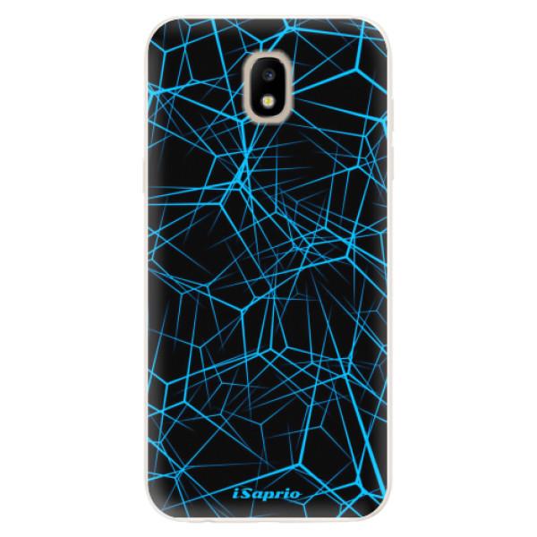 Silikonové pouzdro iSaprio - Abstract Outlines 12 - Samsung Galaxy J5 2017