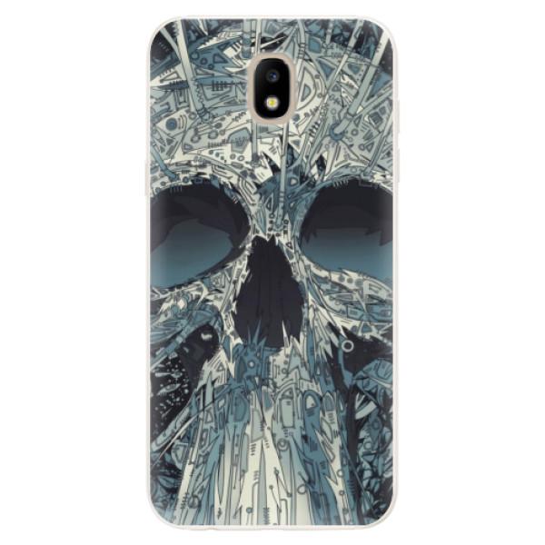 Silikonové pouzdro iSaprio - Abstract Skull - Samsung Galaxy J5 2017