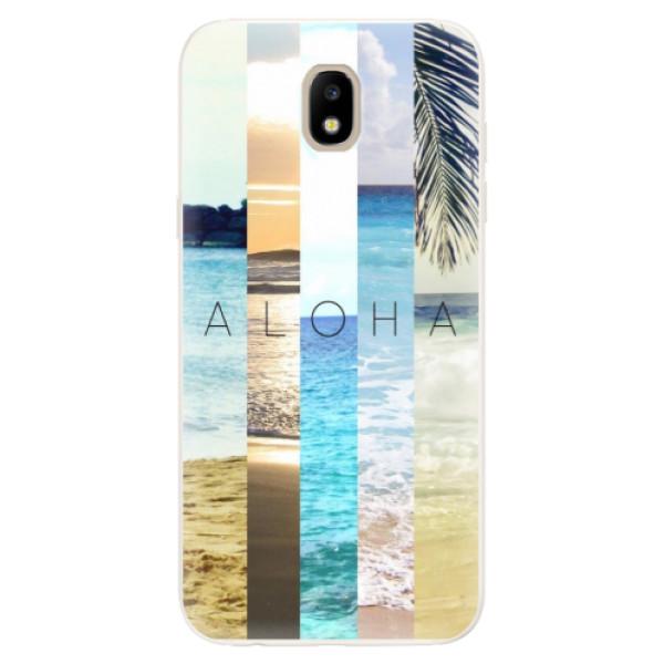 Silikonové pouzdro iSaprio - Aloha 02 - Samsung Galaxy J5 2017