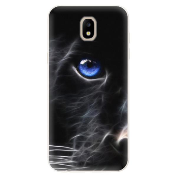 Silikonové pouzdro iSaprio - Black Puma - Samsung Galaxy J5 2017