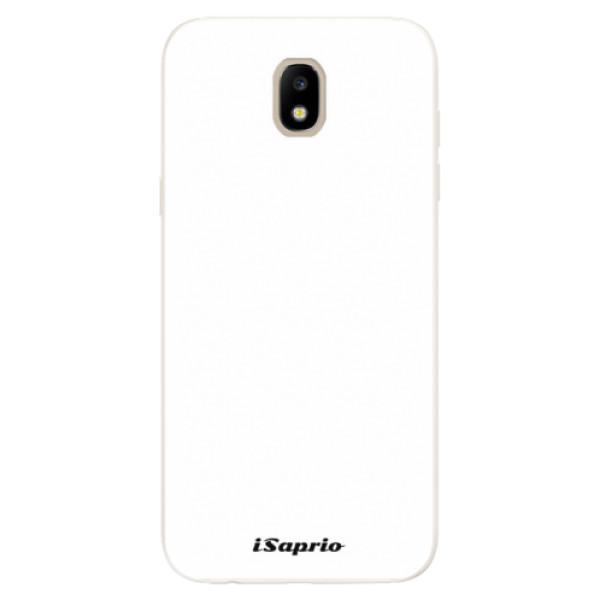 Silikonové pouzdro iSaprio - 4Pure - bílý - Samsung Galaxy J5 2017