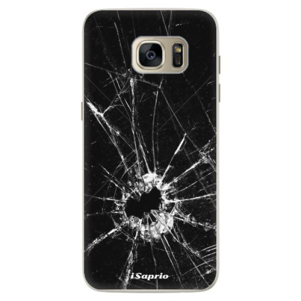 Silikonové pouzdro iSaprio - Broken Glass 10 - Samsung Galaxy S7