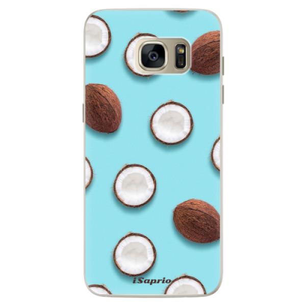 Silikonové pouzdro iSaprio - Coconut 01 - Samsung Galaxy S7