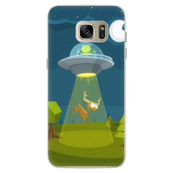 Silikonové pouzdro iSaprio - Alien 01 - Samsung Galaxy S7