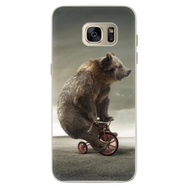 Silikonové pouzdro iSaprio - Bear 01 - Samsung Galaxy S7