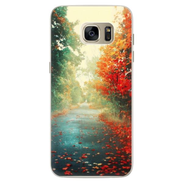 Silikonové pouzdro iSaprio - Autumn 03 - Samsung Galaxy S7