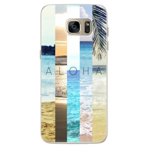 Silikonové pouzdro iSaprio - Aloha 02 - Samsung Galaxy S7