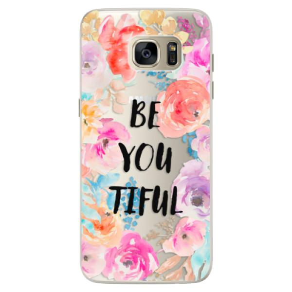Silikonové pouzdro iSaprio - BeYouTiful - Samsung Galaxy S7