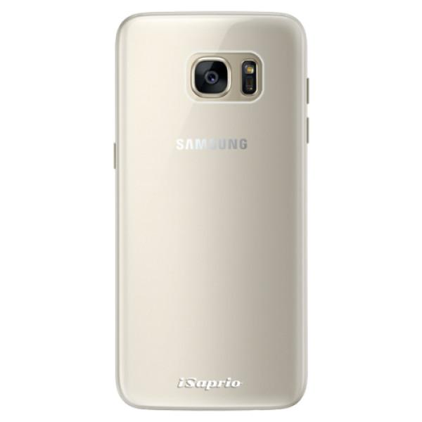 Silikonové pouzdro iSaprio - 4Pure - mléčný bez potisku - Samsung Galaxy S7
