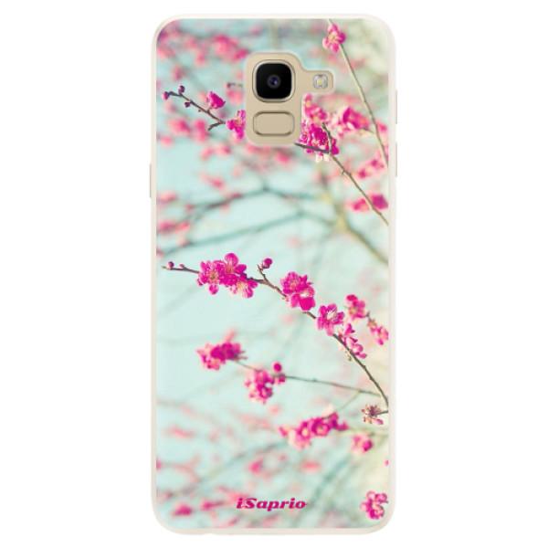 Silikonové pouzdro iSaprio - Blossom 01 - Samsung Galaxy J6