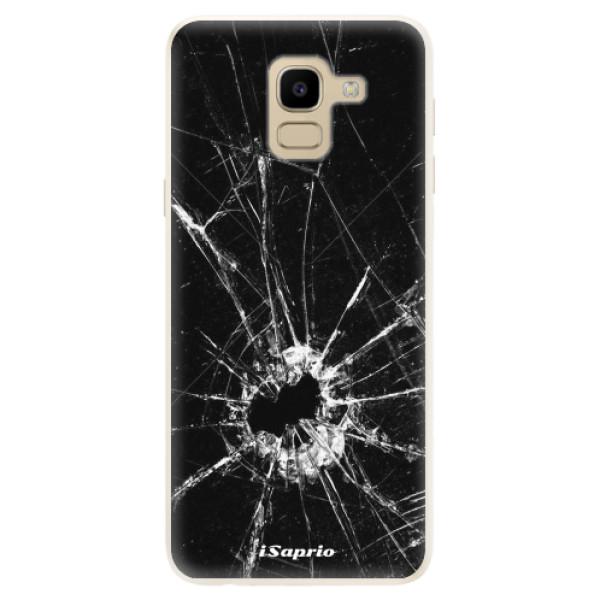 Silikonové pouzdro iSaprio - Broken Glass 10 - Samsung Galaxy J6
