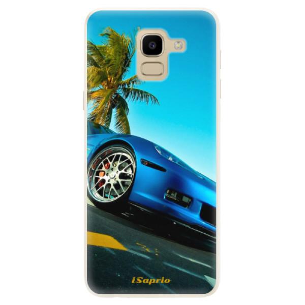 Silikonové pouzdro iSaprio - Car 10 - Samsung Galaxy J6