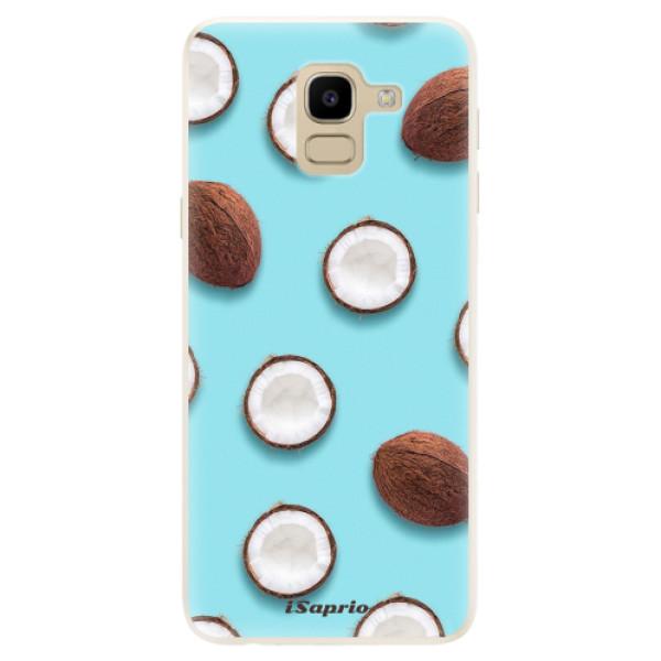 Silikonové pouzdro iSaprio - Coconut 01 - Samsung Galaxy J6