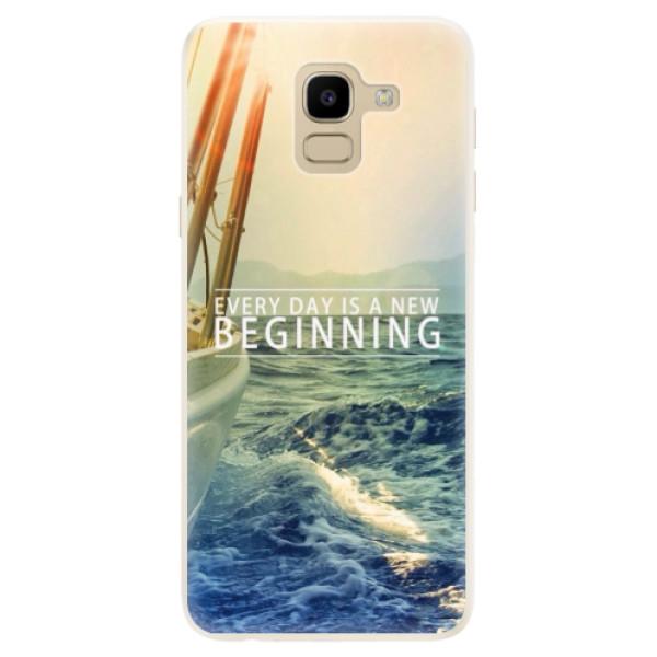 Silikonové pouzdro iSaprio - Beginning - Samsung Galaxy J6