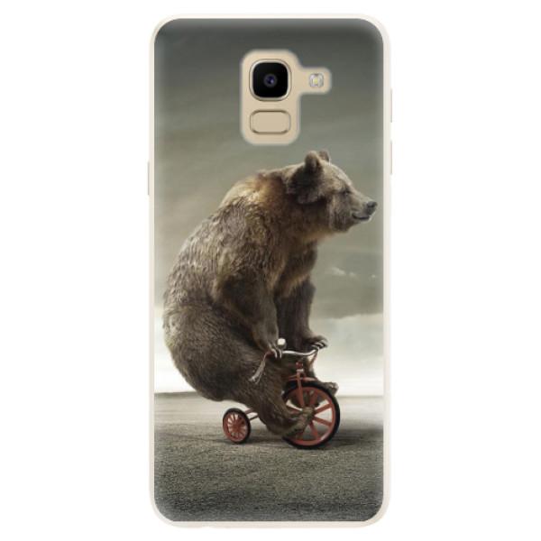 Silikonové pouzdro iSaprio - Bear 01 - Samsung Galaxy J6