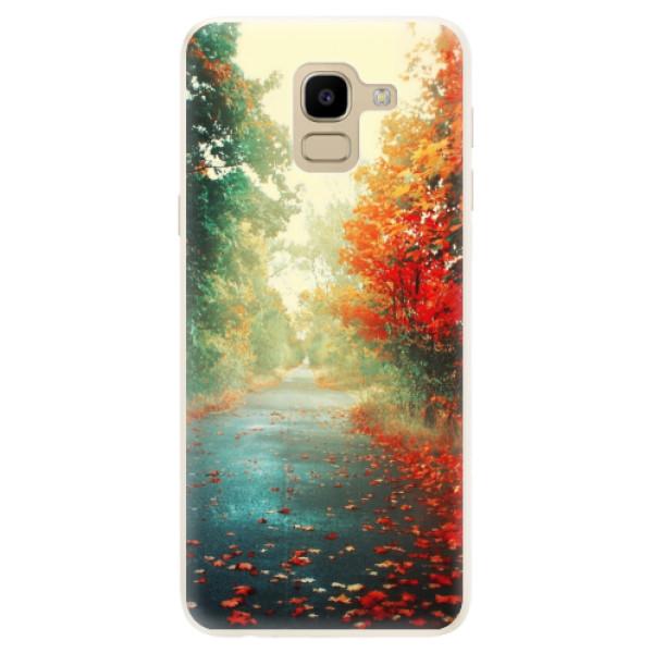 Silikonové pouzdro iSaprio - Autumn 03 - Samsung Galaxy J6