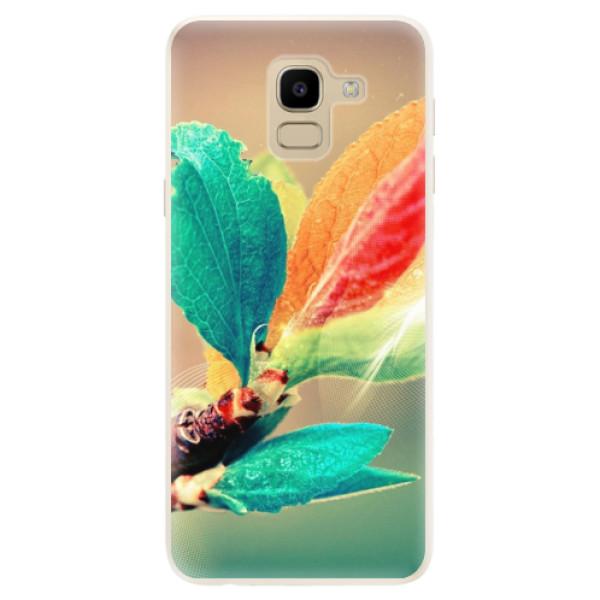 Silikonové pouzdro iSaprio - Autumn 02 - Samsung Galaxy J6