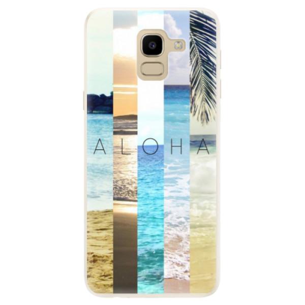 Silikonové pouzdro iSaprio - Aloha 02 - Samsung Galaxy J6