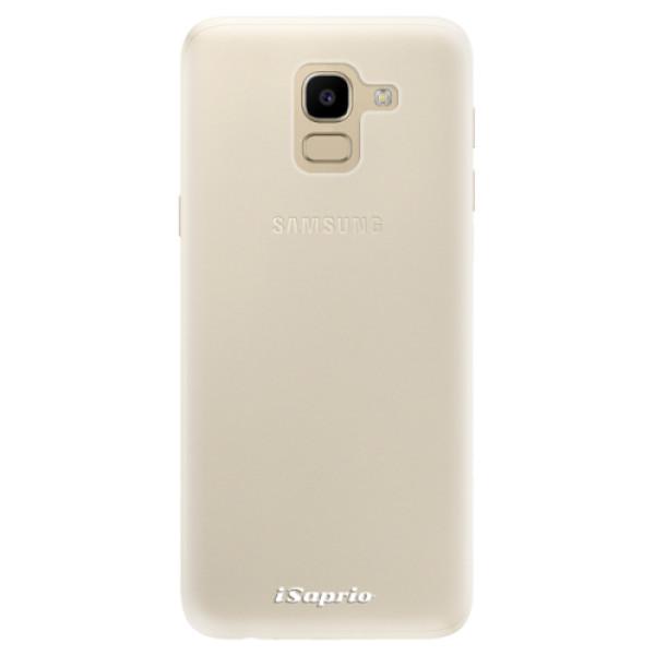 Silikonové pouzdro iSaprio - 4Pure - mléčný bez potisku - Samsung Galaxy J6
