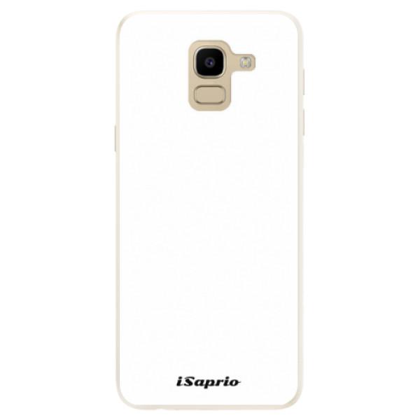 Silikonové pouzdro iSaprio - 4Pure - bílý - Samsung Galaxy J6