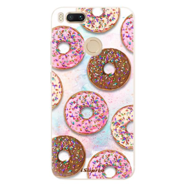 Silikonové pouzdro iSaprio - Donuts 11 - Xiaomi Mi A1