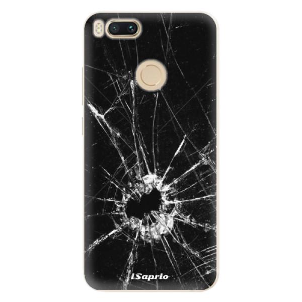 Silikonové pouzdro iSaprio - Broken Glass 10 - Xiaomi Mi A1