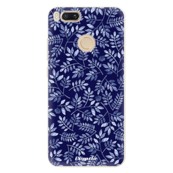 Silikonové pouzdro iSaprio - Blue Leaves 05 - Xiaomi Mi A1