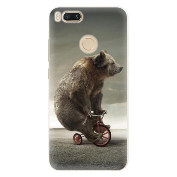 Silikonové pouzdro iSaprio - Bear 01 - Xiaomi Mi A1