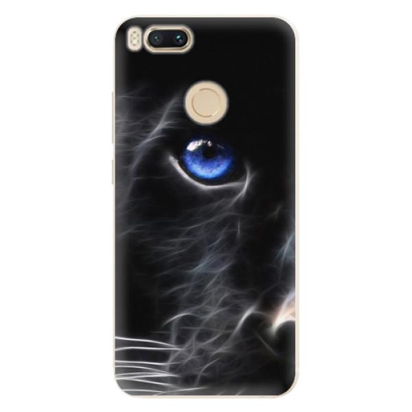 Silikonové pouzdro iSaprio - Black Puma - Xiaomi Mi A1
