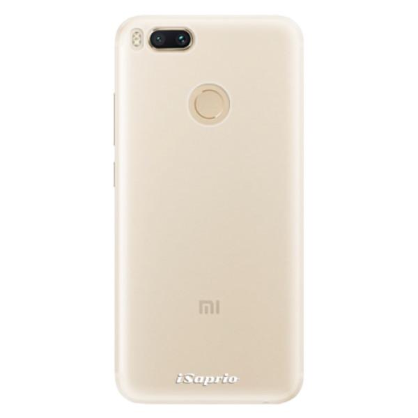 Silikonové pouzdro iSaprio - 4Pure - mléčný bez potisku - Xiaomi Mi A1