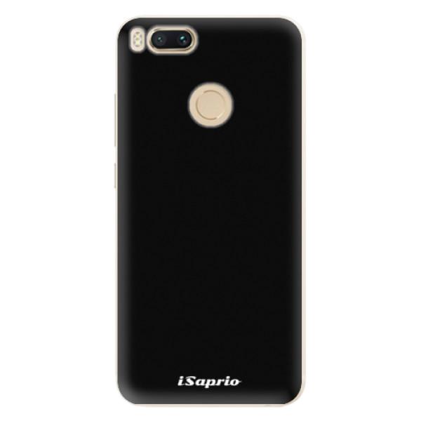 Silikonové pouzdro iSaprio - 4Pure - černý - Xiaomi Mi A1