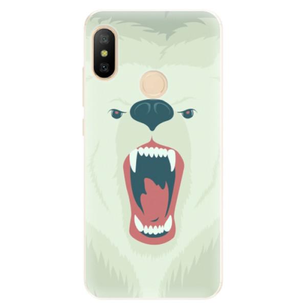 Silikonové pouzdro iSaprio - Angry Bear - Xiaomi Mi A2 Lite